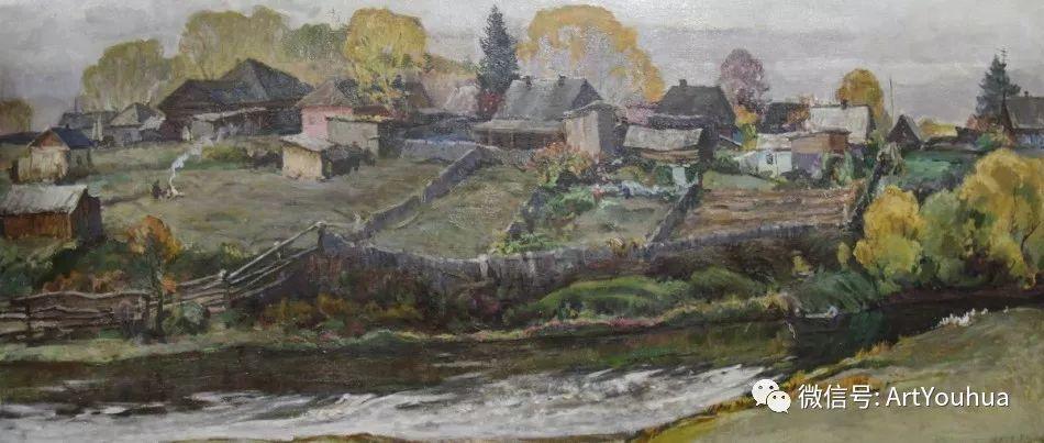 中俄艺术家50年代后期油画即景小品展作品插图153