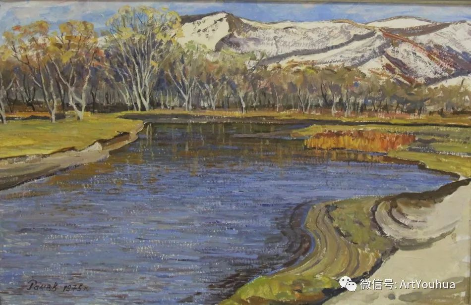 中俄艺术家50年代后期油画即景小品展作品插图163
