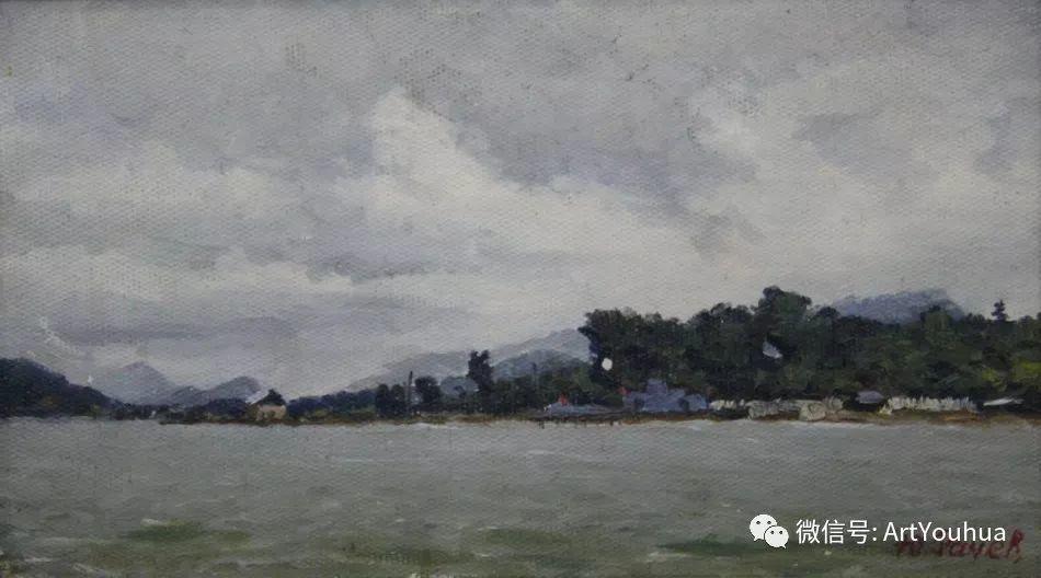 中俄艺术家50年代后期油画即景小品展作品插图167