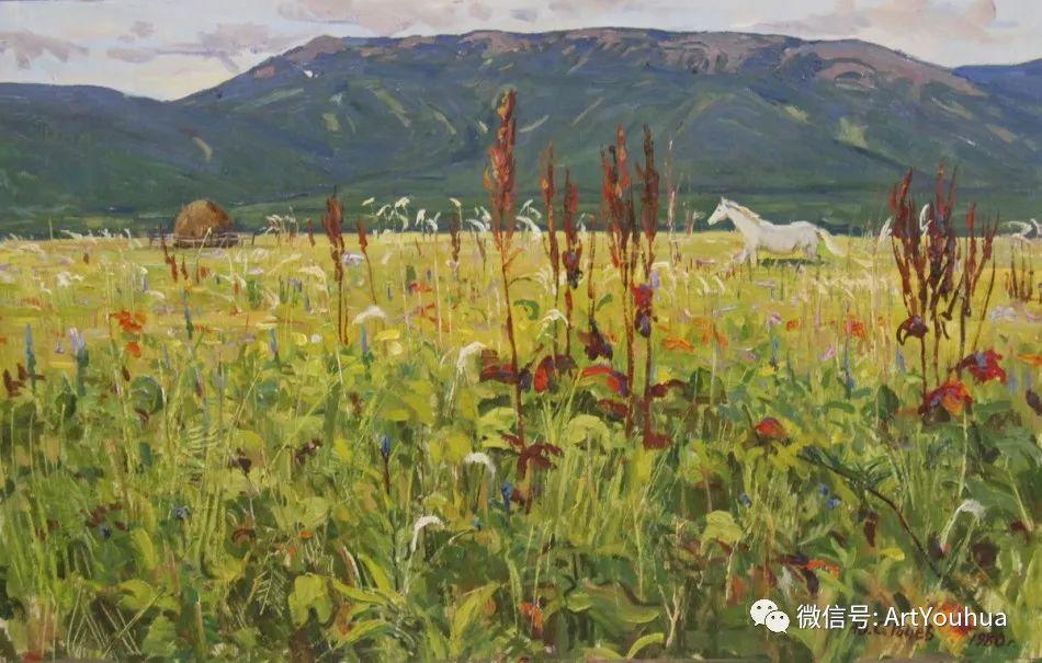 中俄艺术家50年代后期油画即景小品展作品插图169