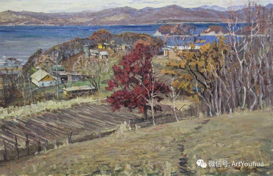 中俄艺术家50年代后期油画即景小品展作品插图171