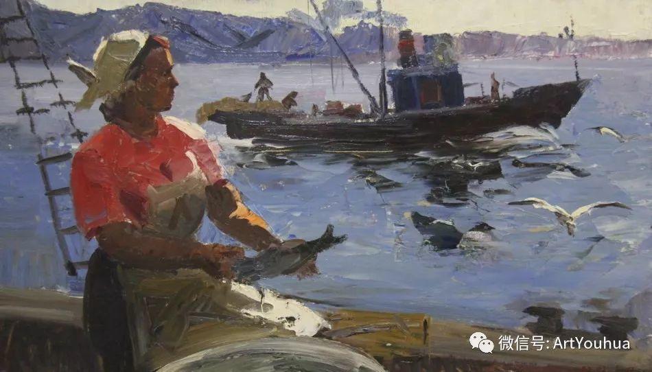 中俄艺术家50年代后期油画即景小品展作品插图173