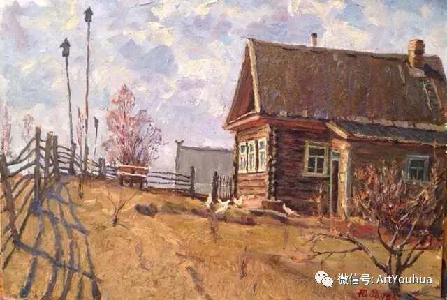 中俄艺术家50年代后期油画即景小品展作品插图177
