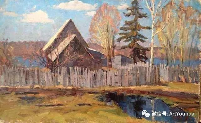 中俄艺术家50年代后期油画即景小品展作品插图179