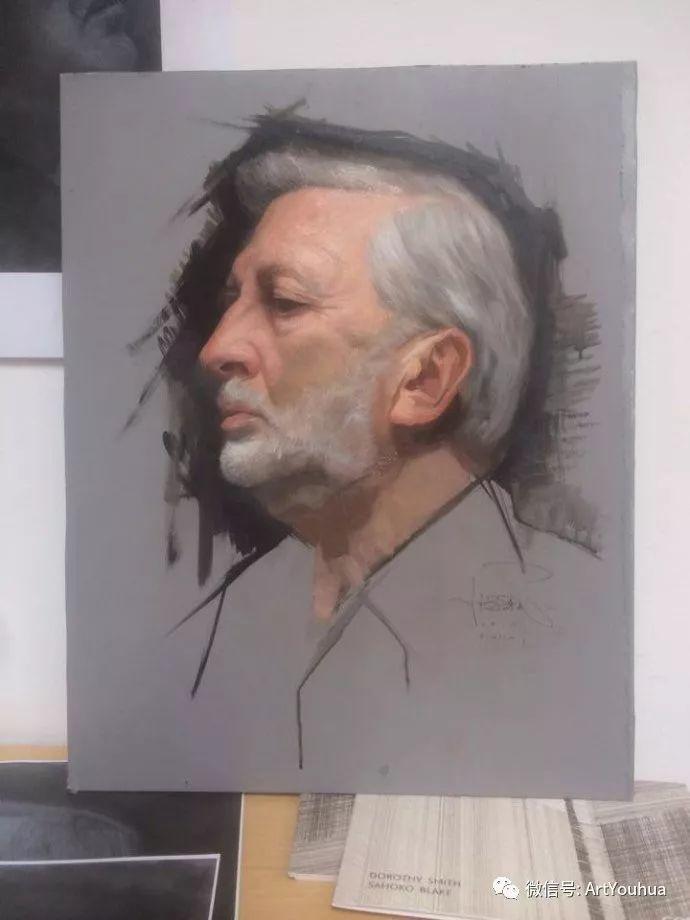 人物刻画 美国David Jon Kassan绘画作品二插图23