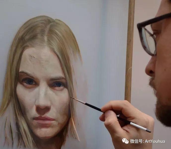 人物刻画 美国David Jon Kassan绘画作品二插图27