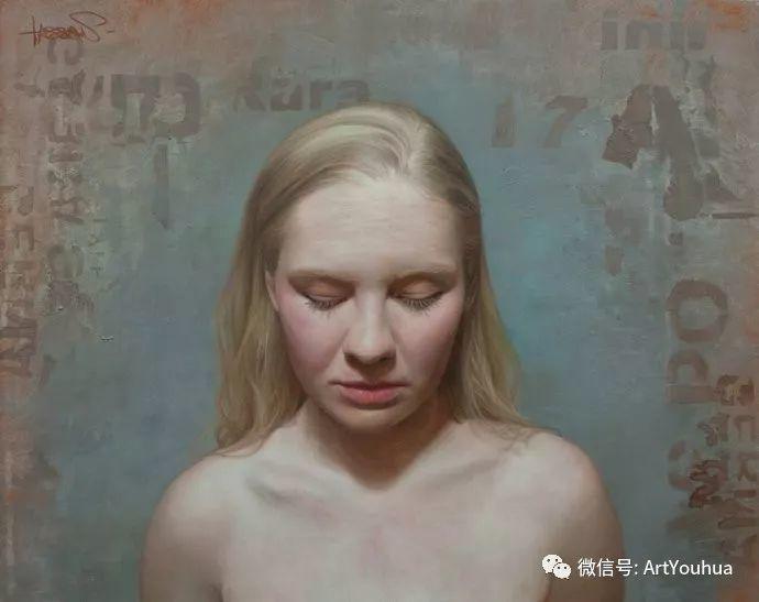 人物刻画 美国David Jon Kassan绘画作品二插图35