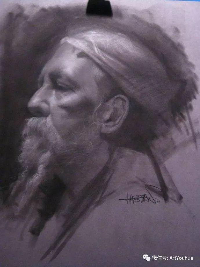 人物刻画 美国David Jon Kassan绘画作品二插图41
