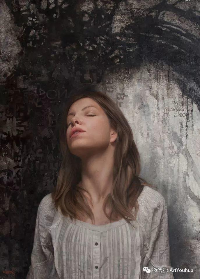 人物刻画 美国David Jon Kassan绘画作品二插图47