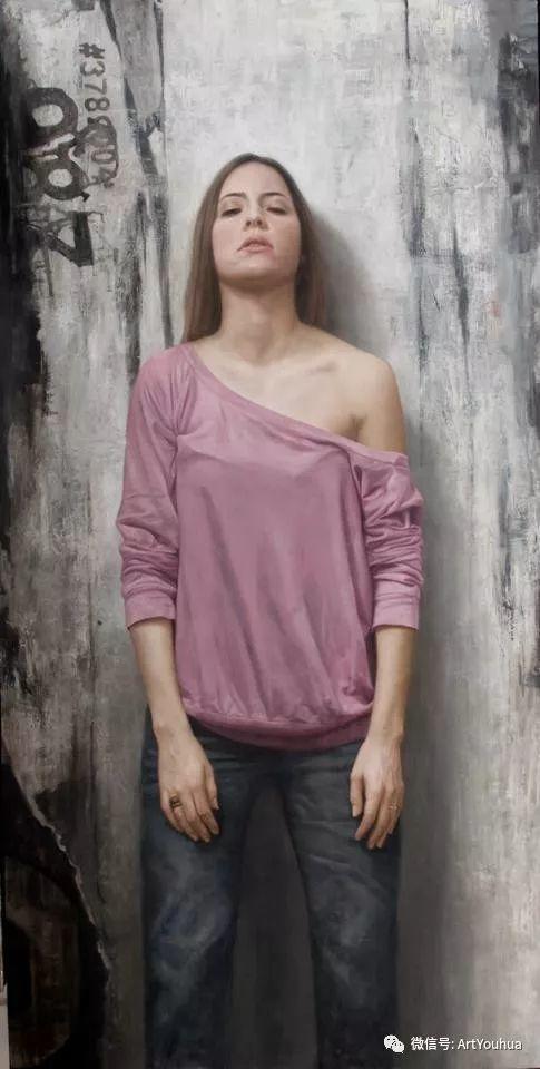 人物刻画 美国David Jon Kassan绘画作品二插图67