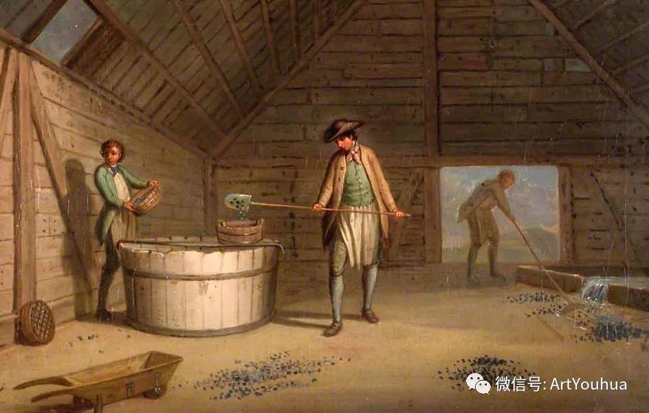 人物 英国画家David Allan作品欣赏插图27