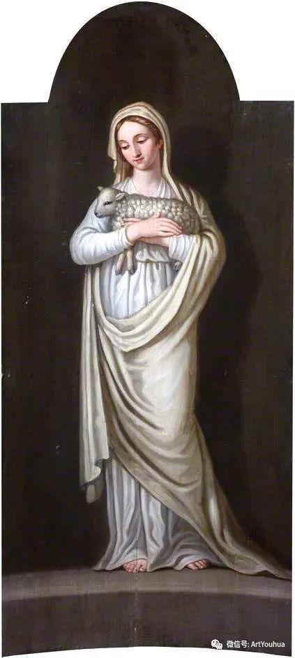 人物 英国画家David Allan作品欣赏插图33