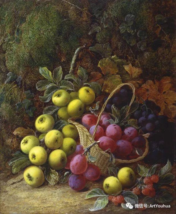 静物画 英国画家George Clare作品欣赏插图5