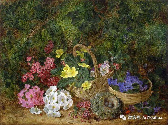 静物画 英国画家George Clare作品欣赏插图10