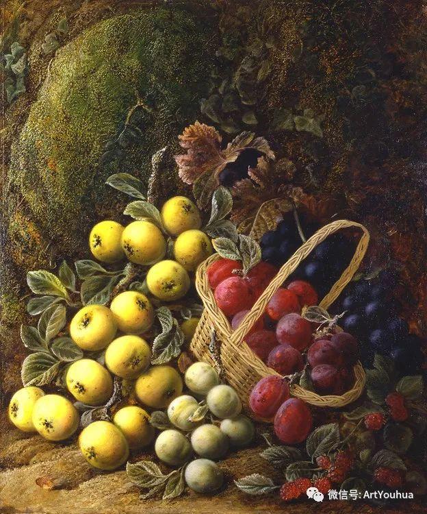 静物画 英国画家George Clare作品欣赏插图14