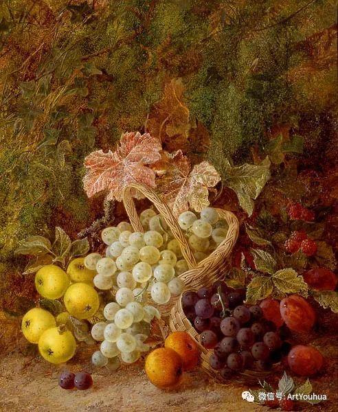 静物画 英国画家George Clare作品欣赏插图17