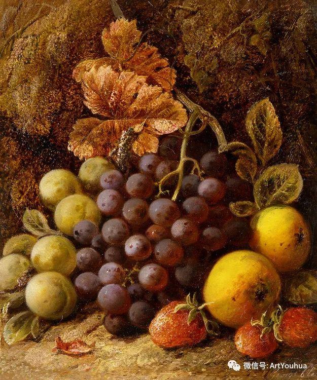 静物画 英国画家George Clare作品欣赏插图21