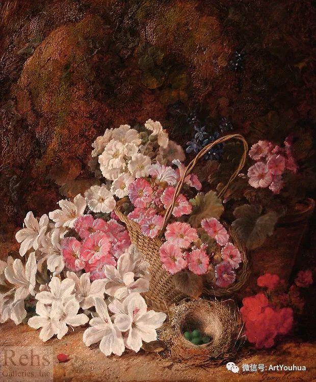 静物画 英国画家George Clare作品欣赏插图22
