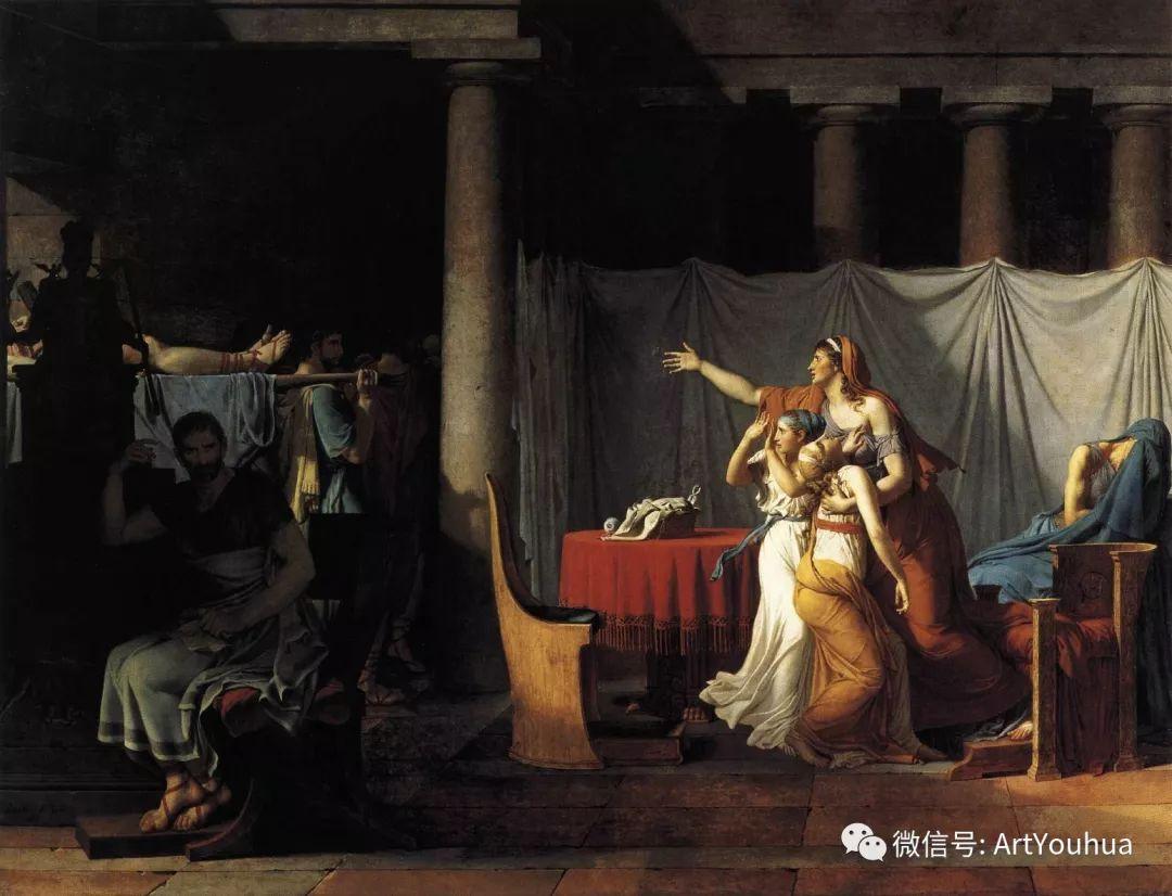 新古典主义开创者 法国Jacques-Louis David插图5