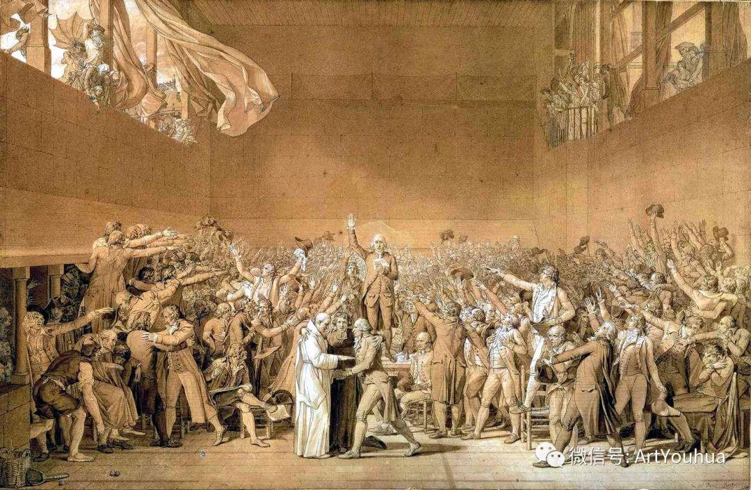 新古典主义开创者 法国Jacques-Louis David插图7