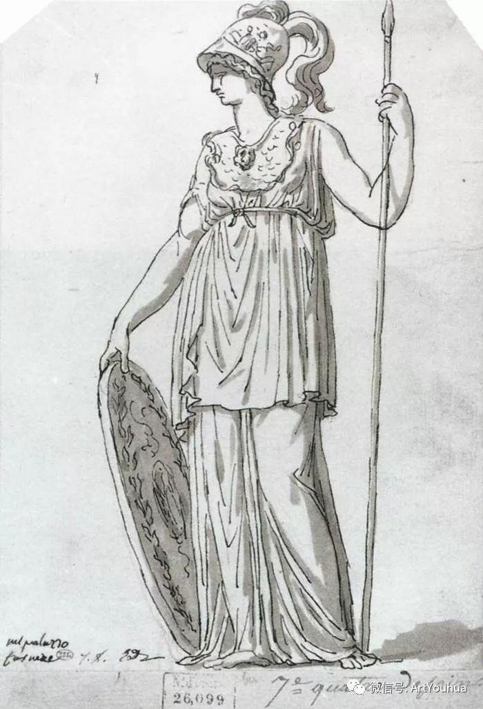 新古典主义开创者 法国Jacques-Louis David插图33
