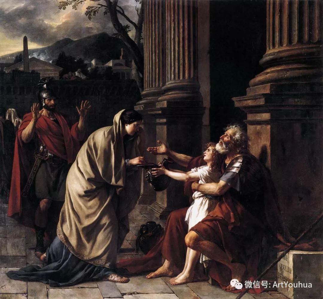 新古典主义开创者 法国Jacques-Louis David插图41