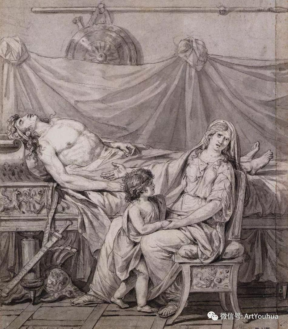 新古典主义开创者 法国Jacques-Louis David插图49