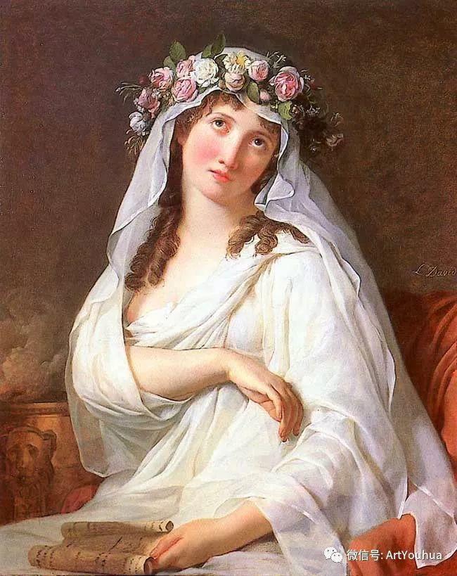 新古典主义开创者 法国Jacques-Louis David插图55