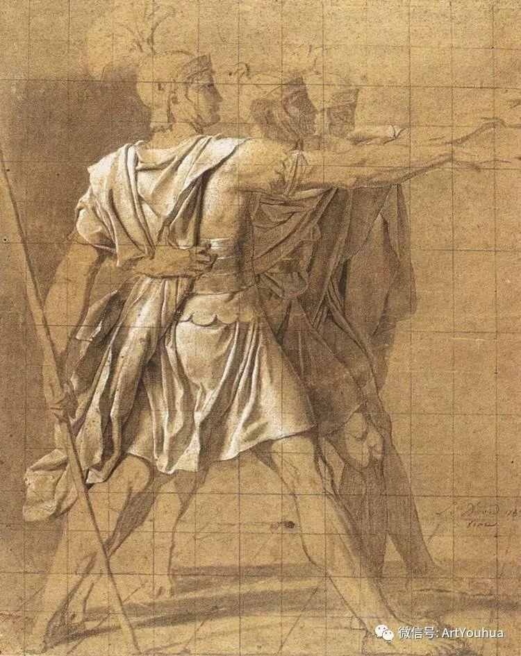 新古典主义开创者 法国Jacques-Louis David插图59