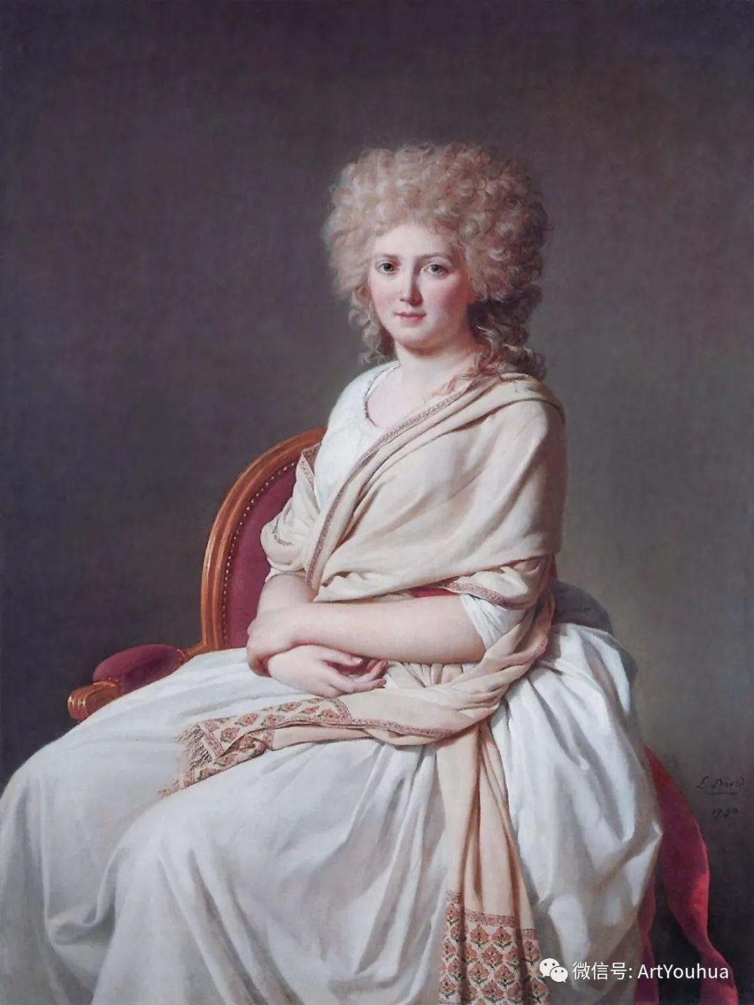 新古典主义开创者 法国Jacques-Louis David插图67