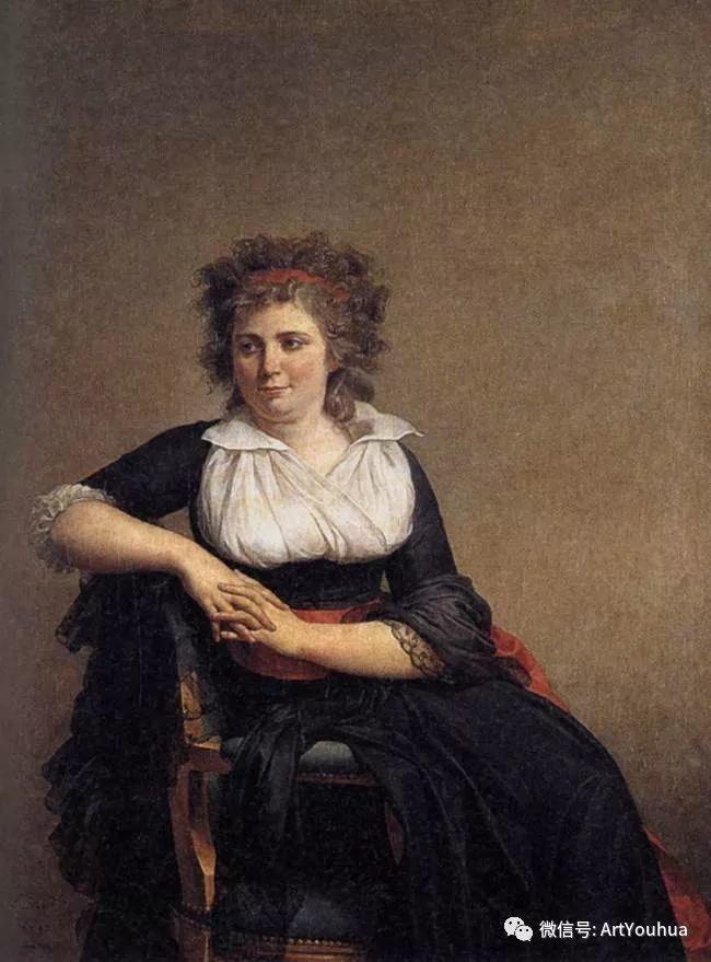 新古典主义开创者 法国Jacques-Louis David插图69