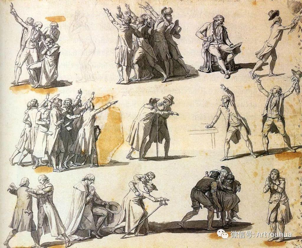 新古典主义开创者 法国Jacques-Louis David插图75