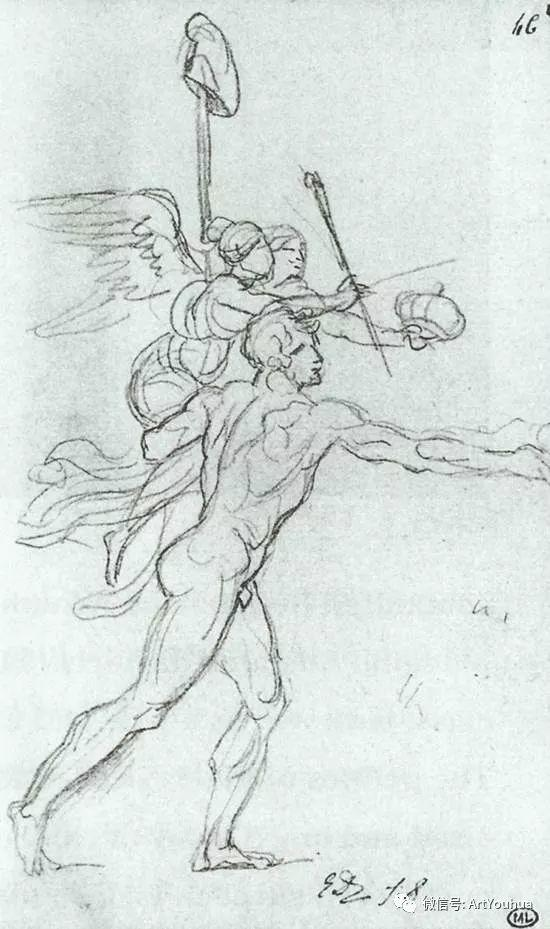 新古典主义开创者 法国Jacques-Louis David插图83
