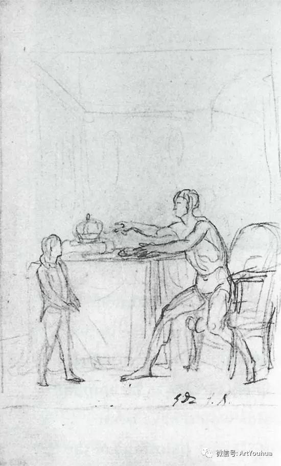 新古典主义开创者 法国Jacques-Louis David插图85