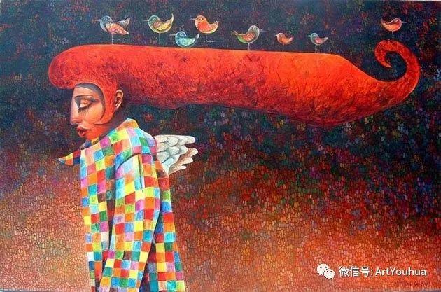超现实肖像 Laimonas Smergelis绘画欣赏插图5