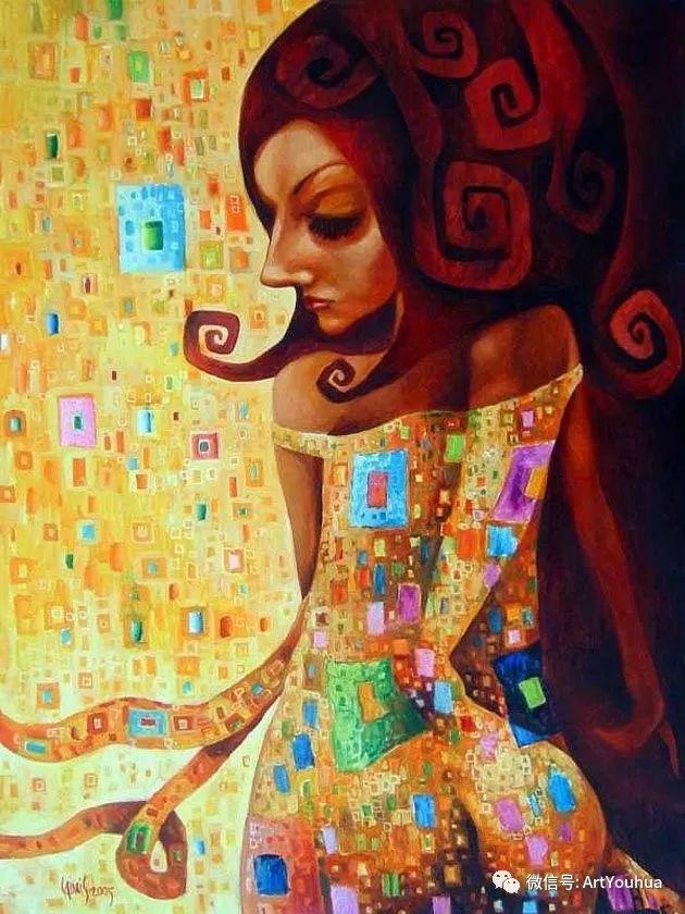 超现实肖像 Laimonas Smergelis绘画欣赏插图7