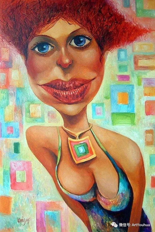 超现实肖像 Laimonas Smergelis绘画欣赏插图13