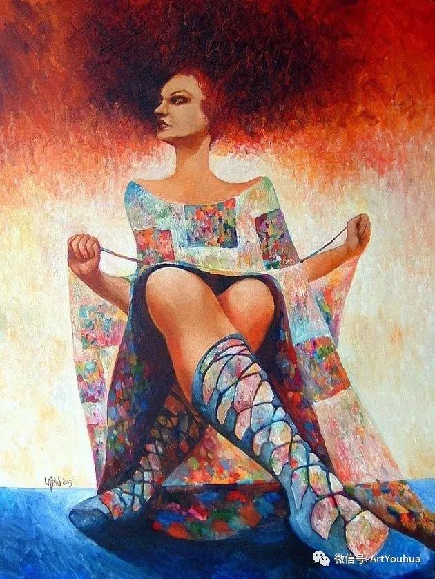超现实肖像 Laimonas Smergelis绘画欣赏插图17