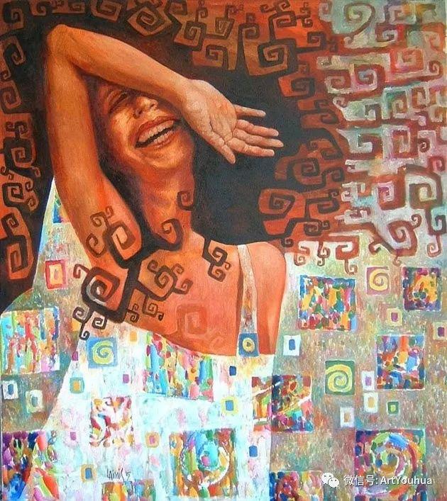 超现实肖像 Laimonas Smergelis绘画欣赏插图19
