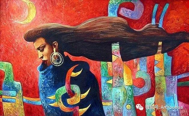 超现实肖像 Laimonas Smergelis绘画欣赏插图23