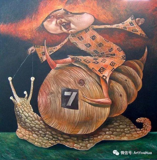 超现实肖像 Laimonas Smergelis绘画欣赏插图45