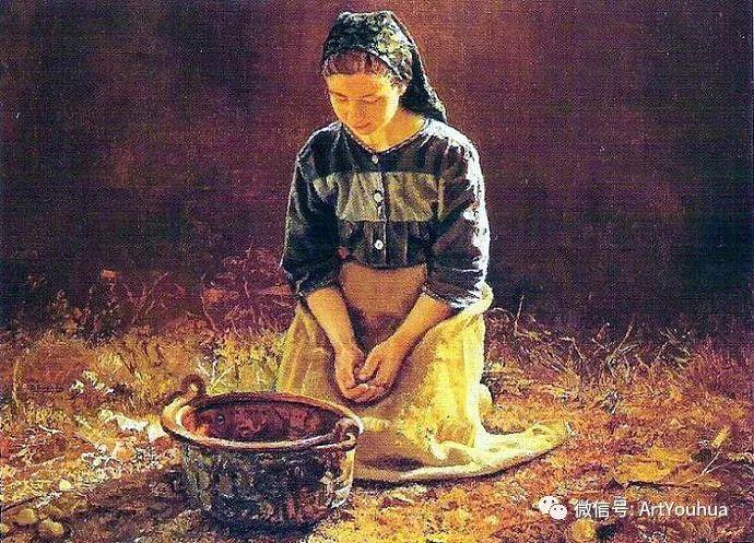 人物油画  西班牙Isabel Guerra作品插图5