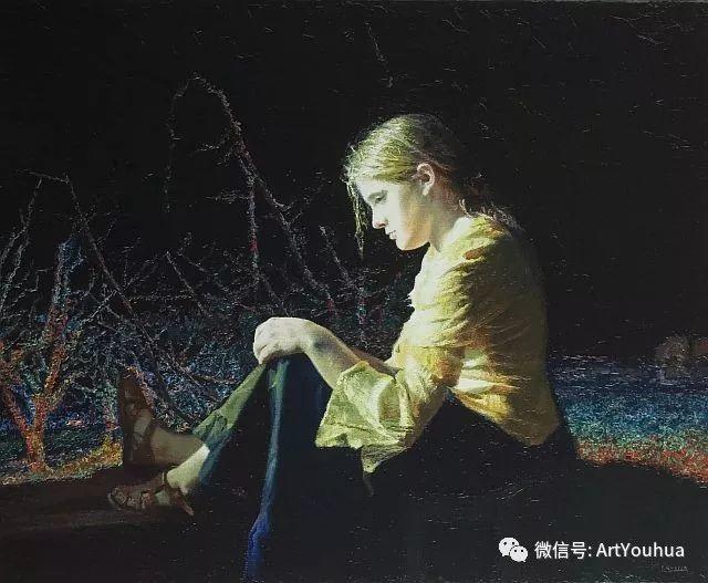人物油画  西班牙Isabel Guerra作品插图33