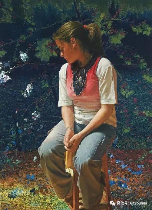 人物油画  西班牙Isabel Guerra作品插图37
