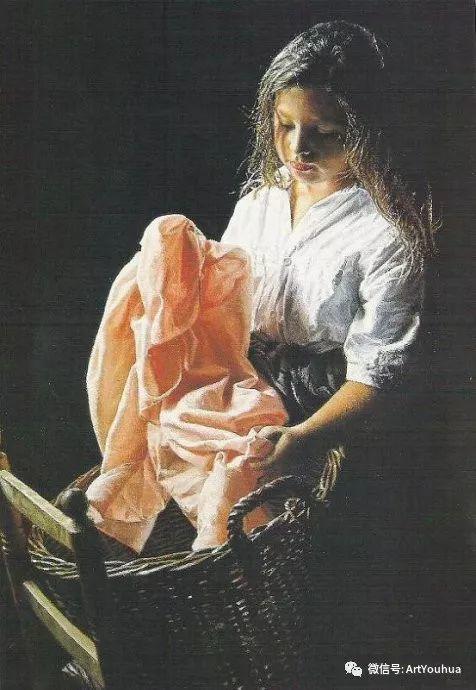 人物油画  西班牙Isabel Guerra作品插图41
