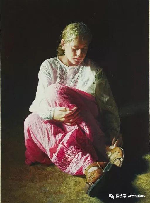 人物油画  西班牙Isabel Guerra作品插图49