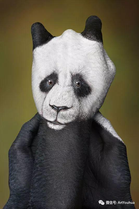 创意动物手绘  意大利Guido Daniele作品插图3