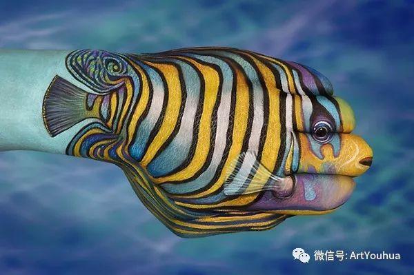 创意动物手绘  意大利Guido Daniele作品插图37
