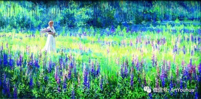风景油画 俄罗斯Картины Марии Вишняк作品欣赏插图19