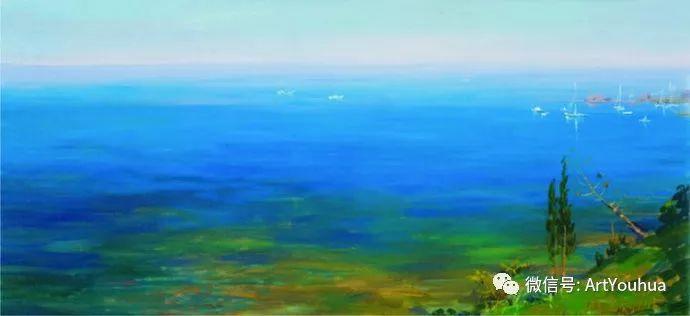 风景油画 俄罗斯Картины Марии Вишняк作品欣赏插图21